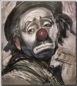 whatsapp sad clown dp boys