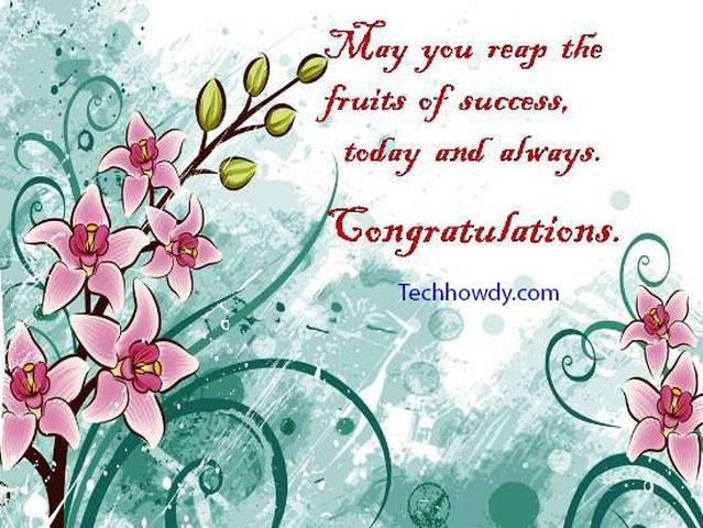 congratulation cards for achievement