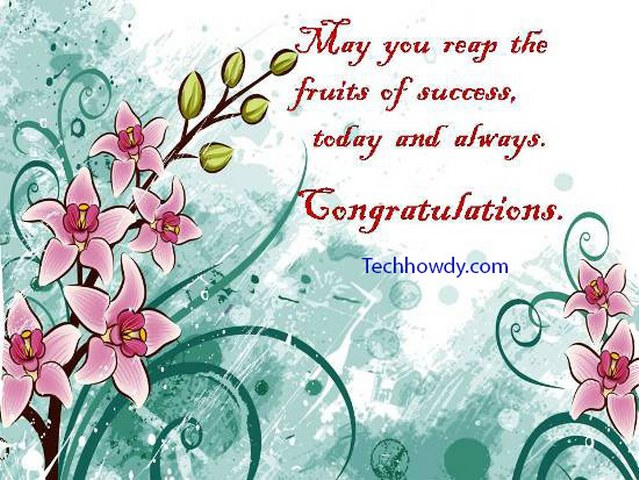 congratulation cards for achievement