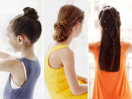 little girl easy to do hairstyles