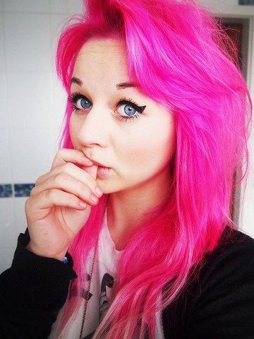 cool hair colors punk hairstyles