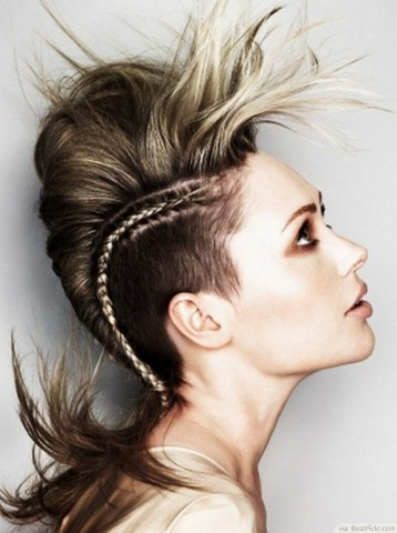 cool punk hairstyles