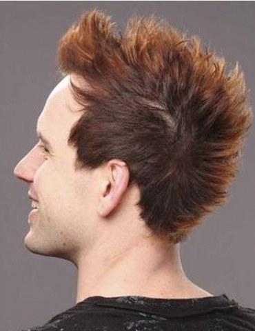 funky short hair for men
