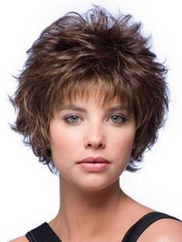 layered hairstyles short hair