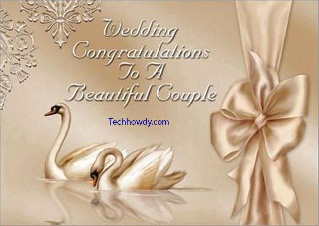 marriage congratulations