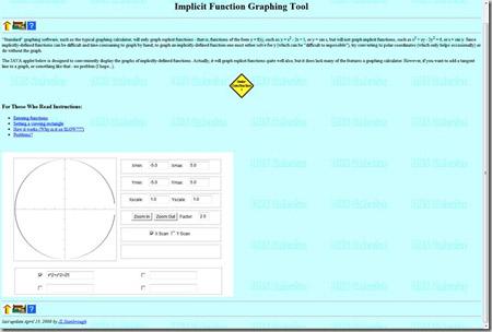 implicit graphing calculator