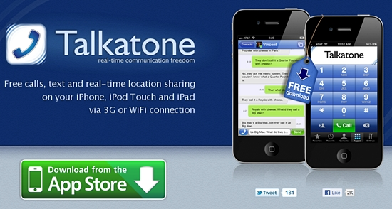 Talkatone Google Voice