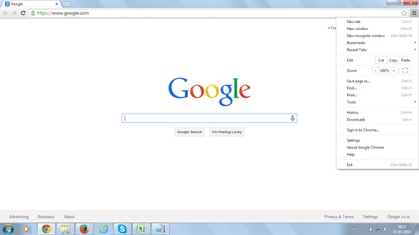 how to keep google as my default search engine firefox