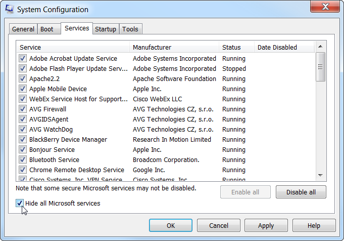 msconfig-hide-all-microsoft-services