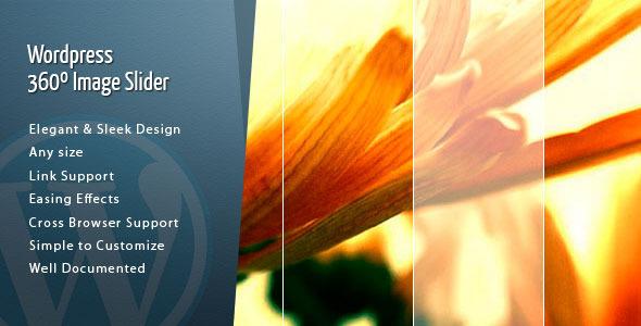Wordpress 360 Slider