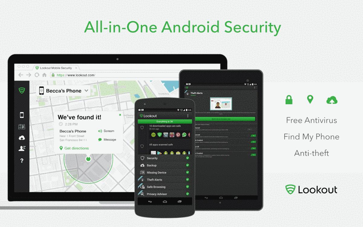 Lookout Premium APK Android Antivirus - TechHowdy