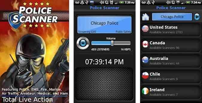 police scanner app download