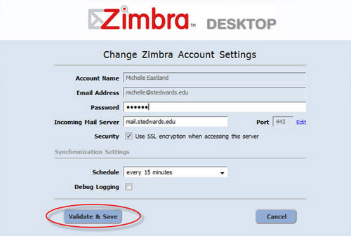 zimbra email client