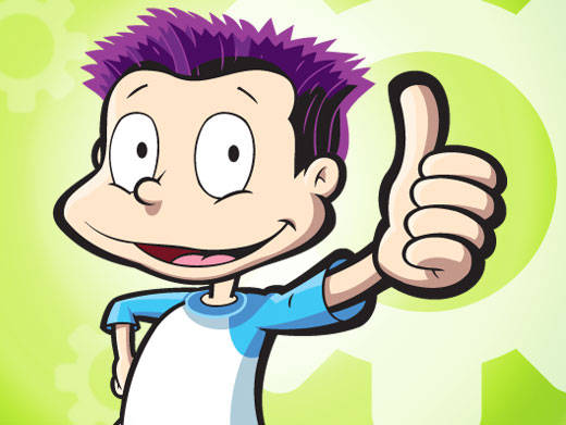 Tommy Pickles Rugrats character
