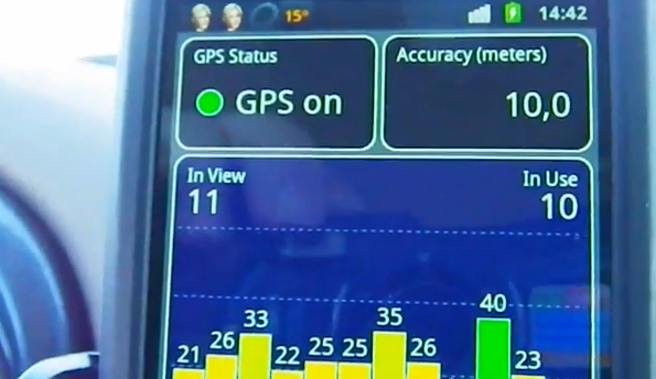 GPS Test Plus Android App