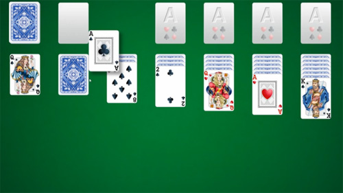 Solitaire Games : The Rules of Spider Solitaire or Patience