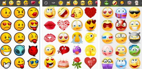 Whatsapp Emoticons List