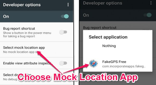 enable mock location