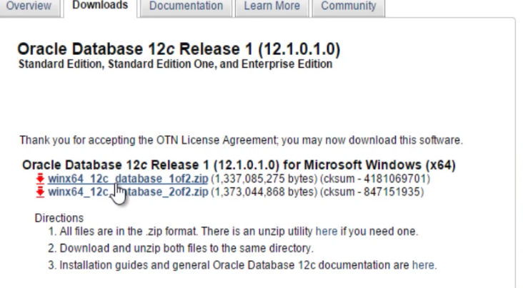 Steps To Install Oracle Database 12c On Windows 10 Professional 64 Bit