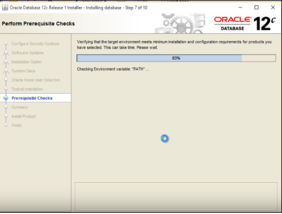 Steps to Install Oracle Database 12c on Windows 10 Professional 64-bit