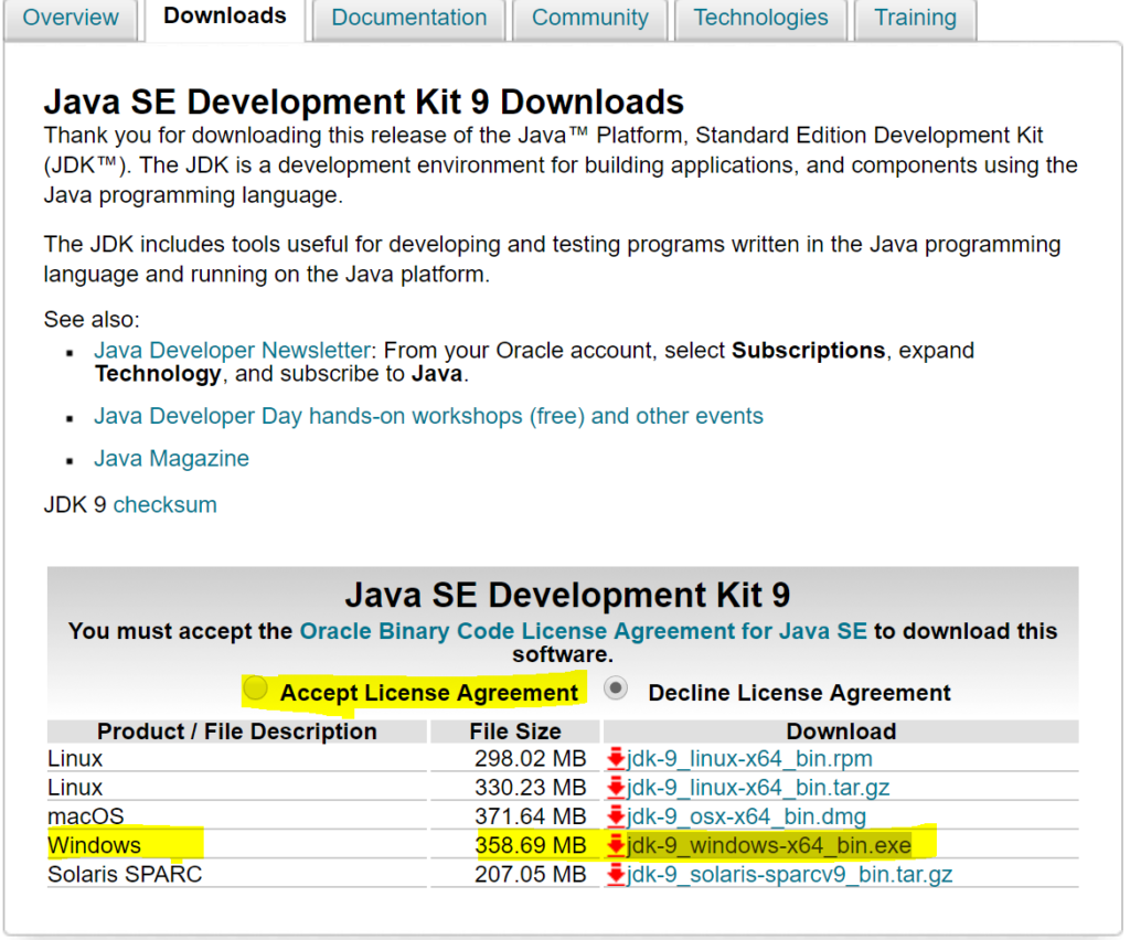 java se development kit linux