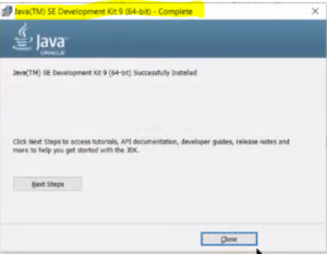installer jdk windows 10 64 bits