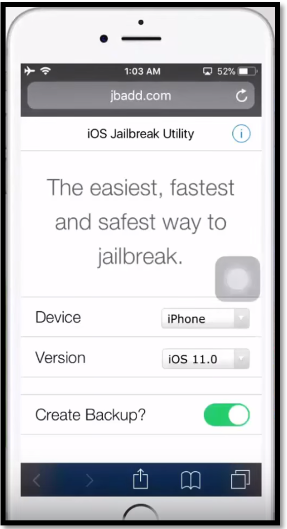 Step by Step Untethered Tutorial for iPhone iOS 11 Jailbreak