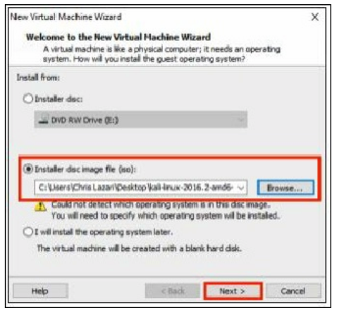 Configuring the Virtual Machine