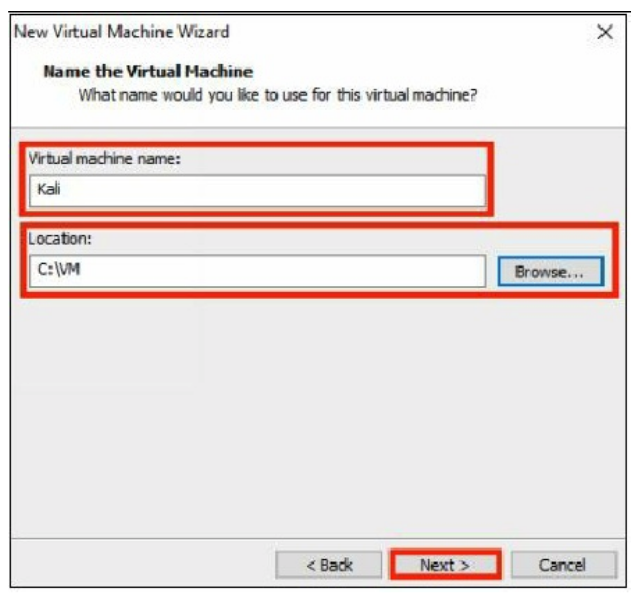 Configuring the Virtual Machine - Step 4