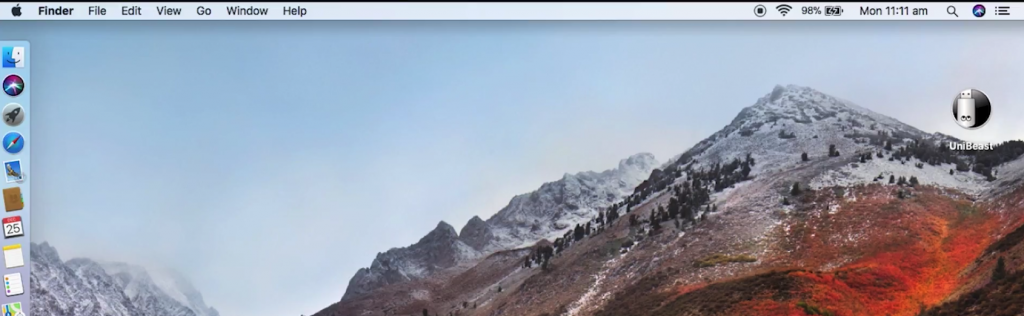 Create macOS High Sierra Bootable USB Installer with UniBeast