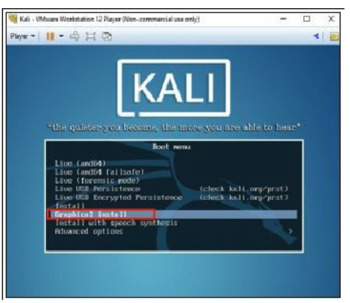 Installing Kali on VMware - Step 2