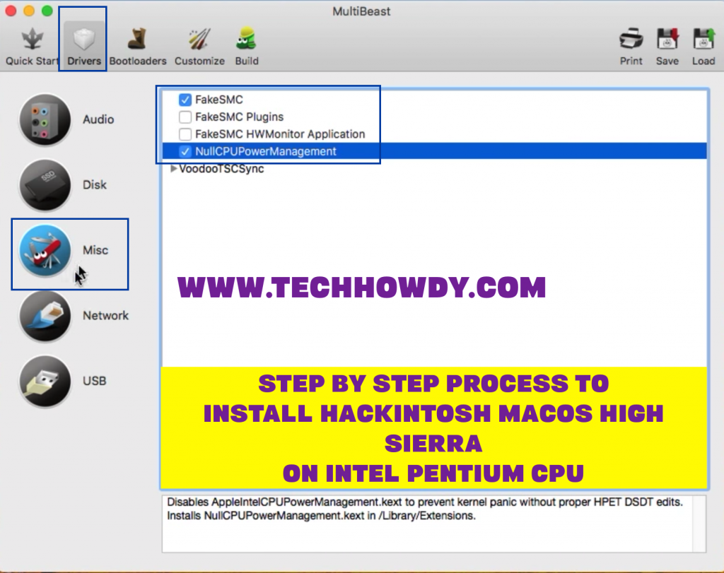 Step by Step Process to Install Hackintosh macOS High Sierra on Intel Pentium CPU -Step 13