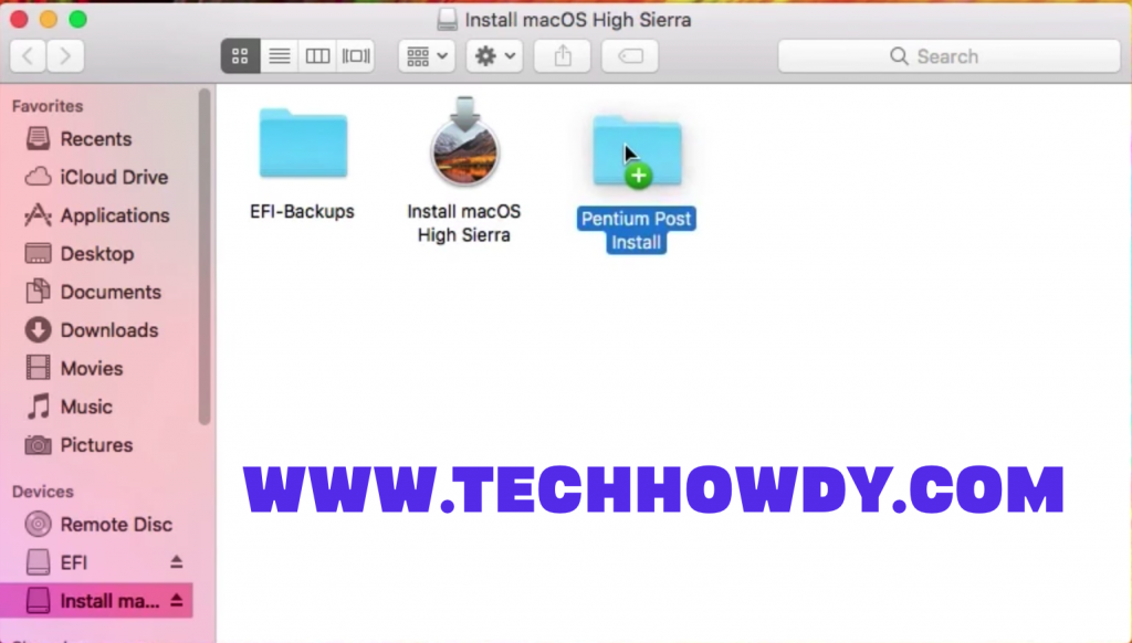 Step by Step Process to Install Hackintosh macOS High Sierra on Intel Pentium CPU -Step 8