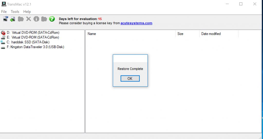 Create macOS High Sierra Bootable USB Installer on Windows 10 - 16