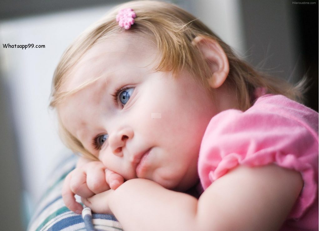 Cute Sad Baby Pics For Whatsapp Display Picture - 12