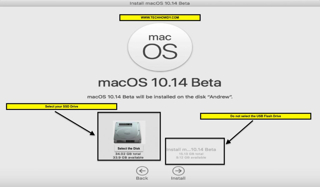 Install Hackintosh macOS Mojave on SSD - 4