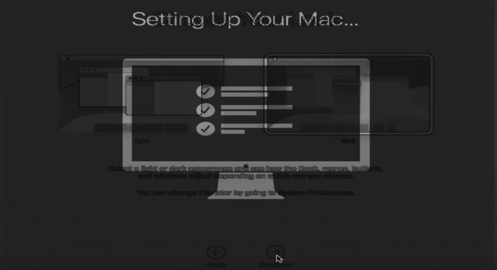 Setting Up macOS Mojave