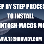 Step By Step Process To Install Hackintosh macOS Mojave