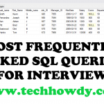 Most Frequently Used SQL Queries for Database Administrators