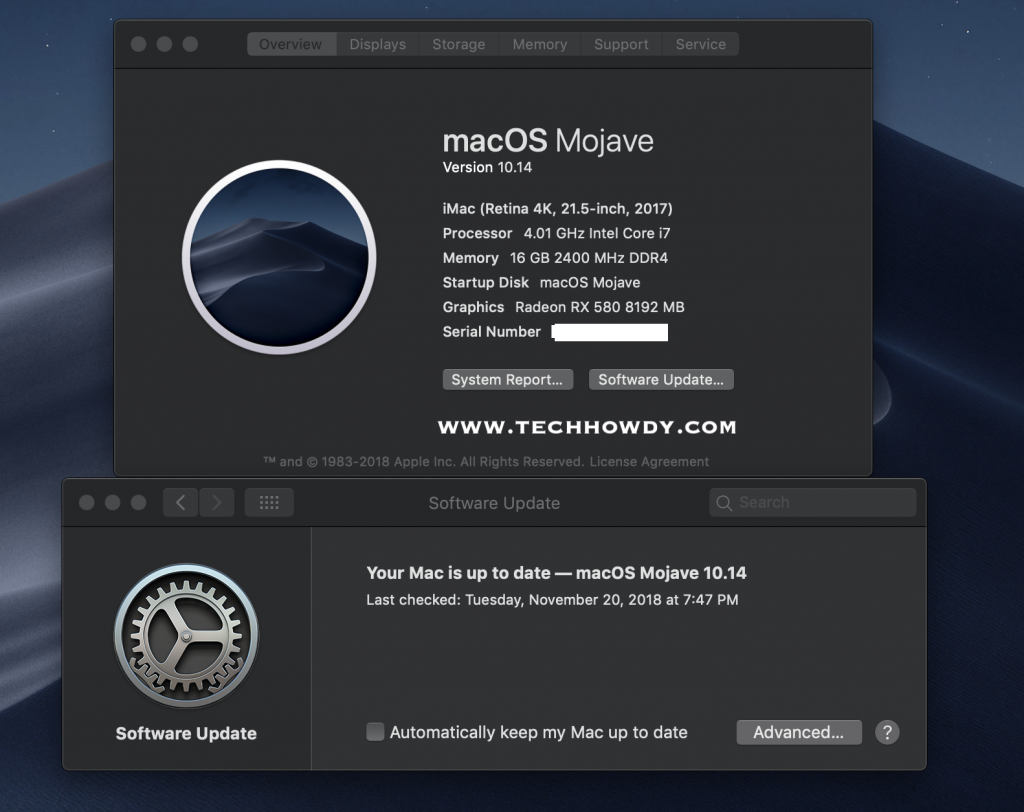 Step By Step Guide to Install Hackintosh Mojave 14.1
