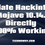 Guide How To Update Hackintosh Mojave 10.14.4 Directly - 100% Working