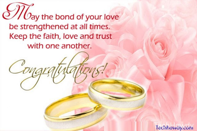 congratulations for friends marriage