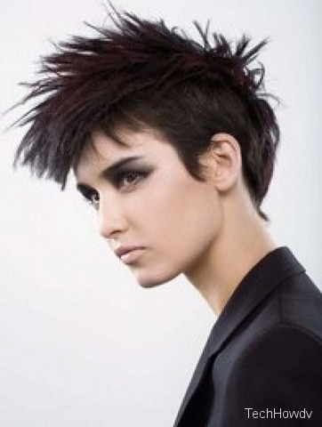 punk hairstyle for women