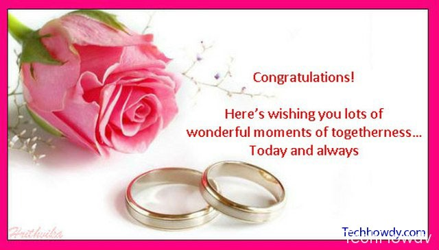 cute marriage wishes