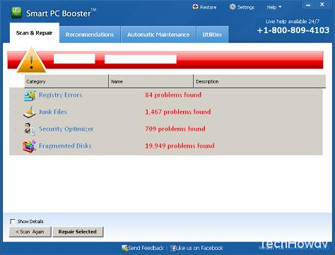how to uninstall smart pc booster 7