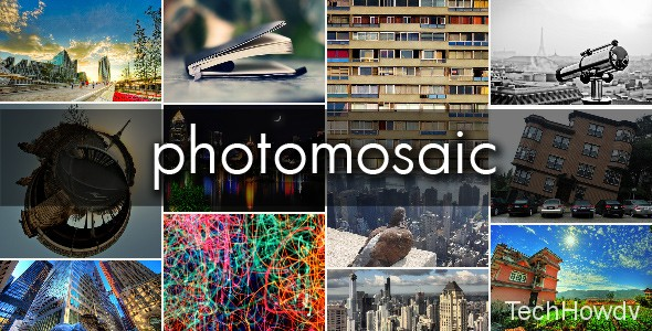 PhotoMosaic Gallery Plugin WordPress
