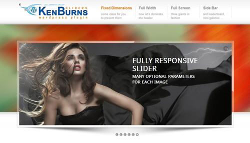 Ken Berns WordPress Plugin