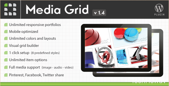 Media Grid WordPress plugin