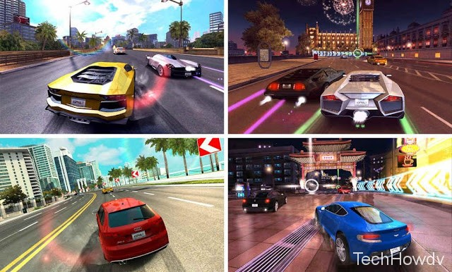 asphalt 7 hear android