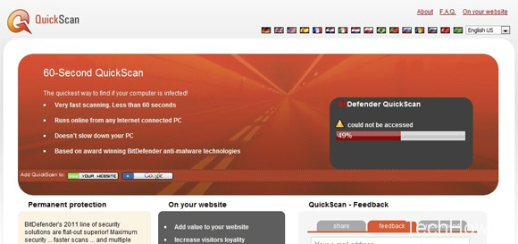 bitdefender online virus check